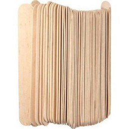 wood spatulas / 100 pcs